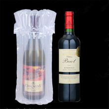 Free Samples inflatable air packaging bags for wine bottle