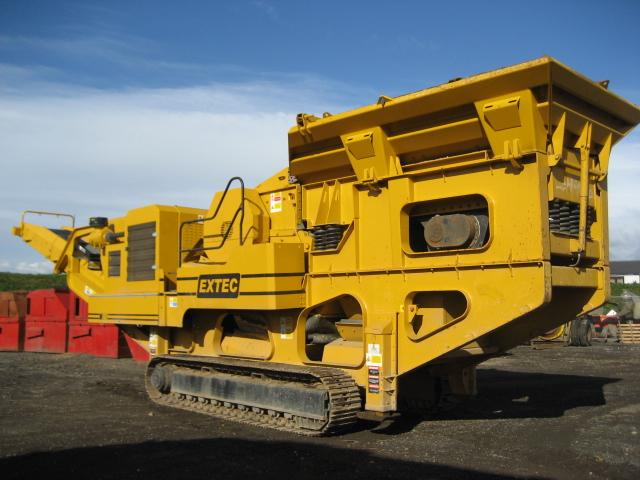 Extec C12+ Jaw Crusher