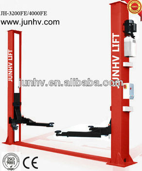 Floor plate two post elevadores hidraulicos of car lift with CE certificate