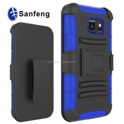 3-in-1 Holster Combo Case With Stand Mobile Phone Covers For Samsung galaxy S7 Active/G891