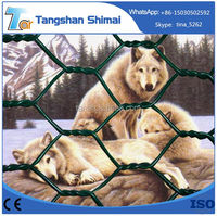 Alibaba lowest price pvc coated 358 security fence prison mesh