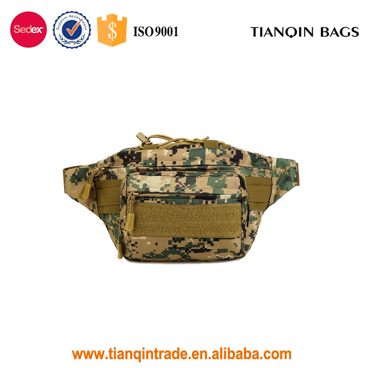 Military Tactical Waist Bag Water-resistant Hip Belt Bag Pouch for Hiking Climbing Outdoor