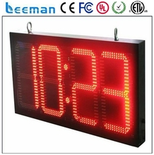 led numbers/digital clock display digital electronic clock/time temperature display sign sports countdown timer led price sign