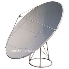 C band prime focus 150cm satellite antenna dish