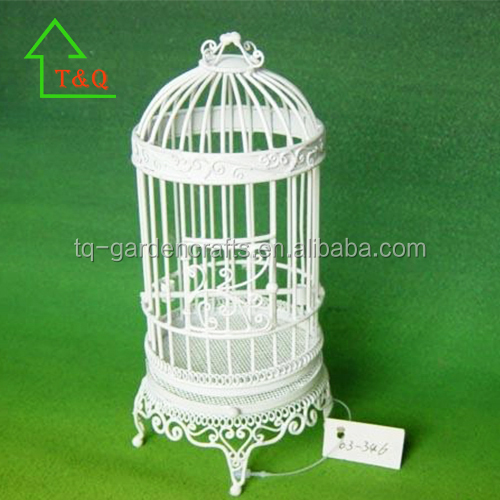 Mini Bird Cage Doll Furniture Mini Iron Furniture