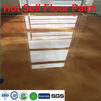 Vehicle workshop concrete floors color sand epoxy coating