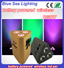 Wedding 3*10w IR remote control led rgb battery rechargeable light