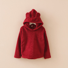 Bulk wholesale muticolor blank cheap cut fleece <strong>children's</strong> fashion <strong>hoody</strong>