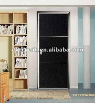 ALUMINIUM DOOR WITH ECO-FRIENDLY AND GLASS