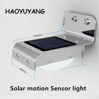 Home Use Outdoor Solar Motion Sensor