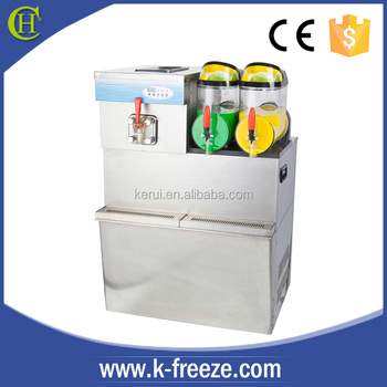 Refrigeration beverage ice cream machine /slush machine 2 in 1