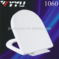 European style soft close d shape toilet seat 1060
