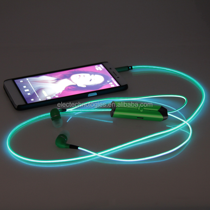 EL glowing Earphone
