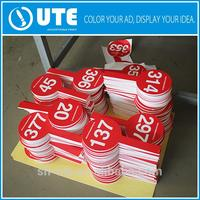 Professional china factory white coreflute signage board coreflute sign sheet