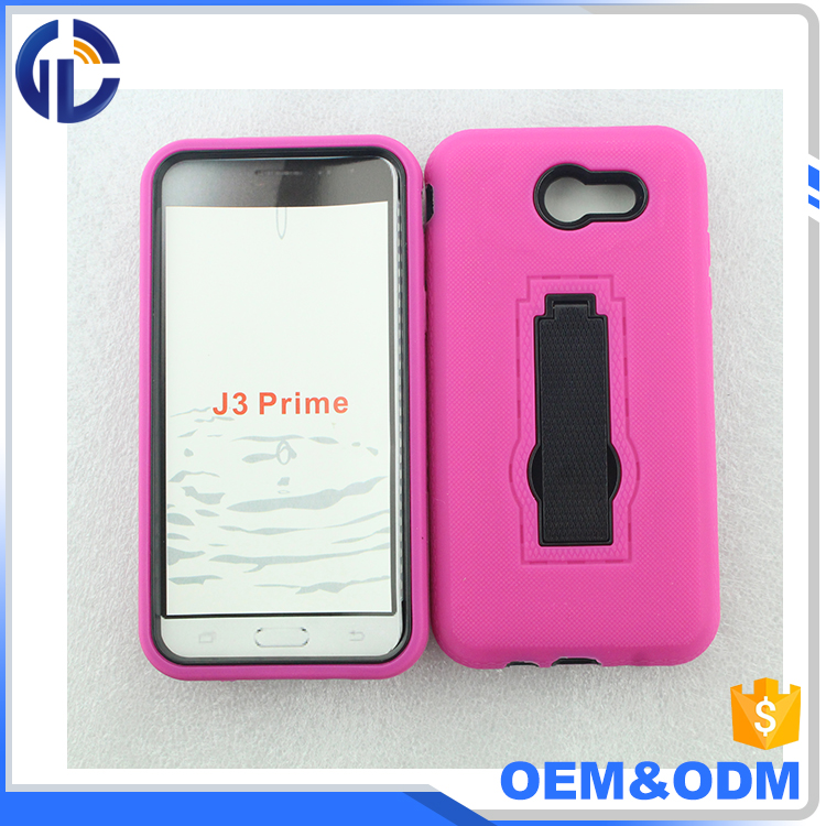 Silicon OEM cellphone case for Samsung J3 emerge, 5 inch mobile phone cover case for Samsung J3 emerge