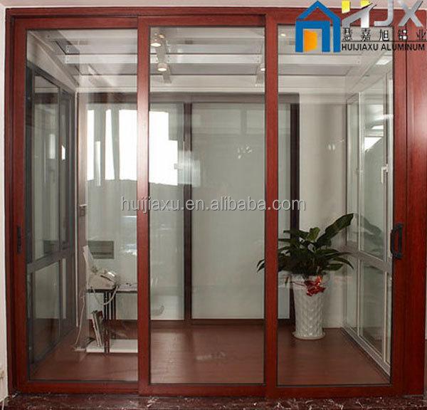 Aluminum Peddinghaus Factory Singapore: Aluminum Frame Tempered Glass Lifting Sliding Door With