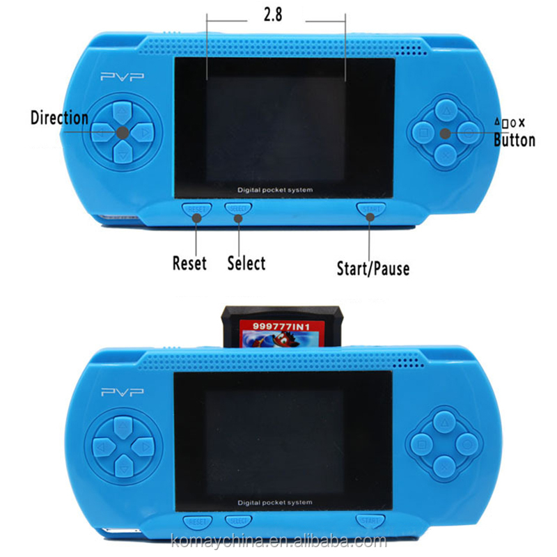 Digital Pocket System TV Out Video PVP game players 2.5 inch 8 bits for Children