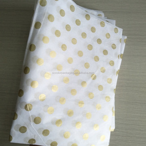 "Free Shipping 20""x26"" Polka Dots Shirt Gift Wrapping Tissue Paper"