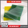 corrugated sheets for roofing / sandwich panel roof sheet / innovative new plastic products
