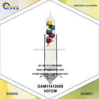 Home Garden Galileo Thermometer With Metal