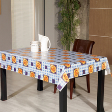 2018 PVC with flannel heat resistant table cloth table cloths, western tablecloths