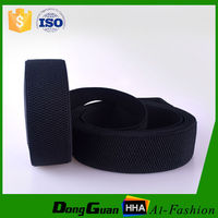 25mm woven plush back elastic band with wholesales
