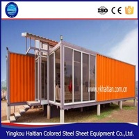 modern house designs light steel structure villa and prefabricated house from china supplier