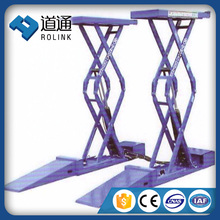 CE approved car scissor lifter