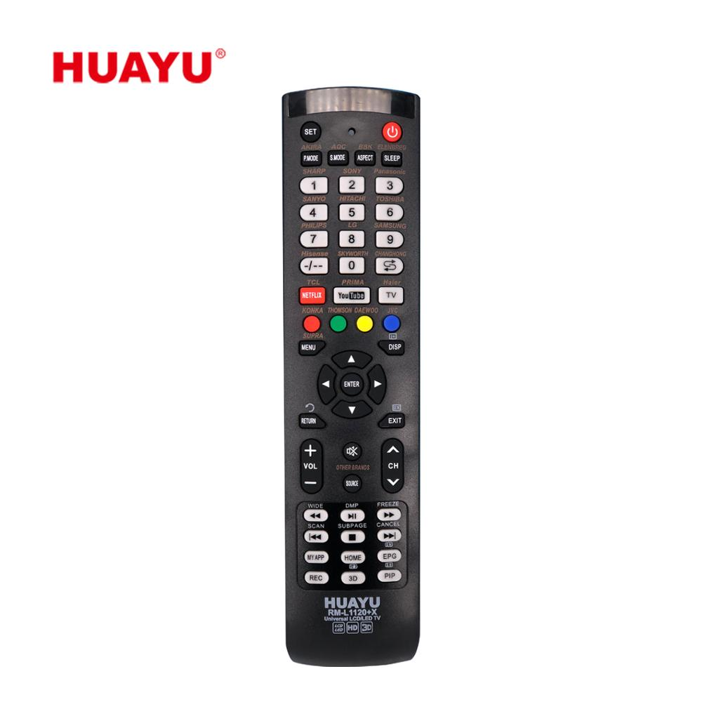 HUAYU RM-L1120+<strong>X</strong> HOME USE LCD TV <strong>REMOTE</strong> <strong>CONTROL</strong>