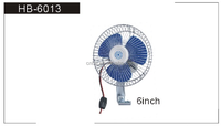 6inch auto electric car fan
