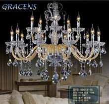 HOT! Modern Chandelier Light Cristal Luster with K9 Crystal and 3 Year Warranty CCFL-DD012
