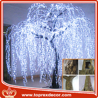LED weeping willow tree lighting led wireless christmas tree lights