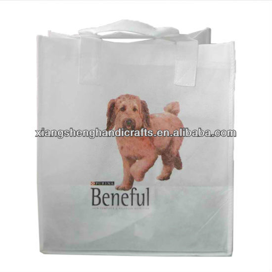 Heat Transfer Printing Cute Dog Printed Non-woven bags