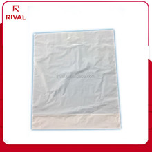 white square bottom die cut hdpe plastic shopping bags for sale
