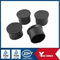 High Precision Round Rubber Leg Tips For Chair,Feet, Cover Tips