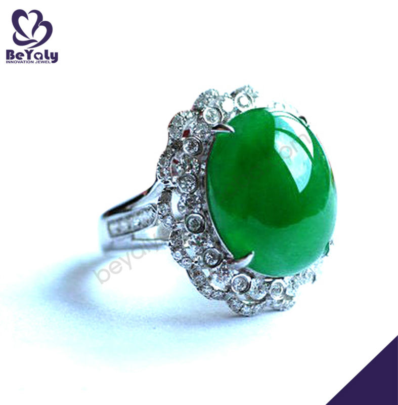 wholesale costume jewelry green ring