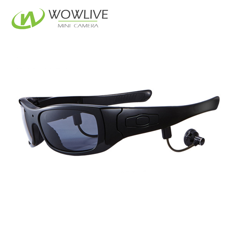 2017 New product support recording while listen music bluetooth mp3 sunglasses with video camera