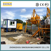 SINOSUN low cost QLB60 used asphalt plant for sale