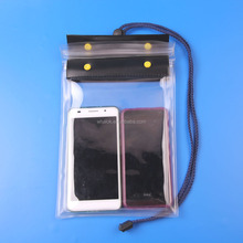 Customerized waterproof mobile cell phone neck pouch