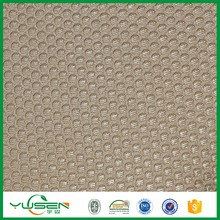 Round pattern sandwich,100 polyester knit polyester mesh fabric for furniture
