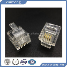 phone plug RJ11 plug connector crystal head 4p4c