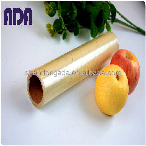 plastic core paper roll for food packing pvc cling film