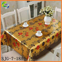 2015 Popular New Design banquet table cloth For easy to cleaning