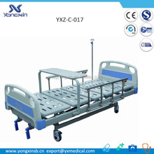YXZ-C-017 Luxury Manual Hospital 2 Crank physiotherapy bed