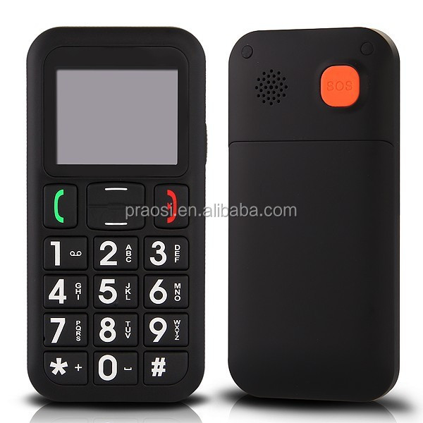 basic function blind people mobile phone with talking keypad for people with disabilities