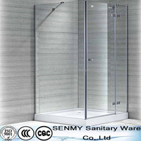Square shape ABS shower enclosure style with 8mm glass thickness shower room