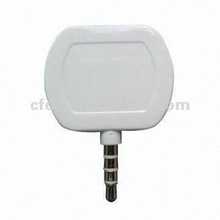 Factory mini magnetic mobile card reader works with IOS and Android OS