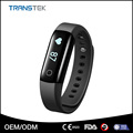 Bluetooth IP68 waterproof smart fitness tracker with heart rate monitor