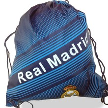Promotional customized sports drawstring backpack cinch bag
