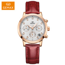 2017 amazing attractive vogue ladies watch for wholesale